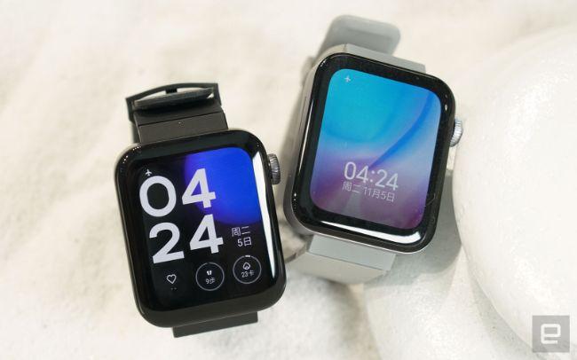 Xiaomi đã ra mắt chiếc smartwatch Mi Watch đầu tiên trong dòng sản phẩm thương hiệu Mi với thiết kế khá giống sản phẩm