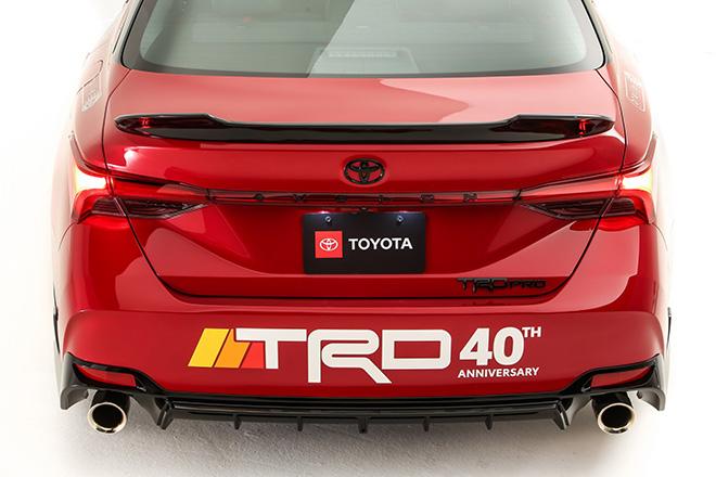 Toyota Avalon TRD Pro Concept trình làn, nhanh hơn cả Porsche 911 Carrera hay Audi R8 - 10