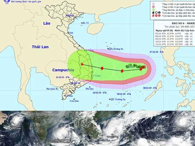 Hiện tượng hiếm gặp: Cùng lúc xuất hiện 4 cơn bão và áp thấp nhiệt đới liên đại dương