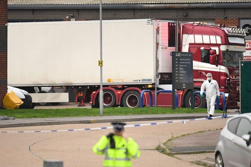 Bộ Công an, Bộ Ngoại giao: 39 người tử vong trong container tại Anh là người Việt Nam - 1