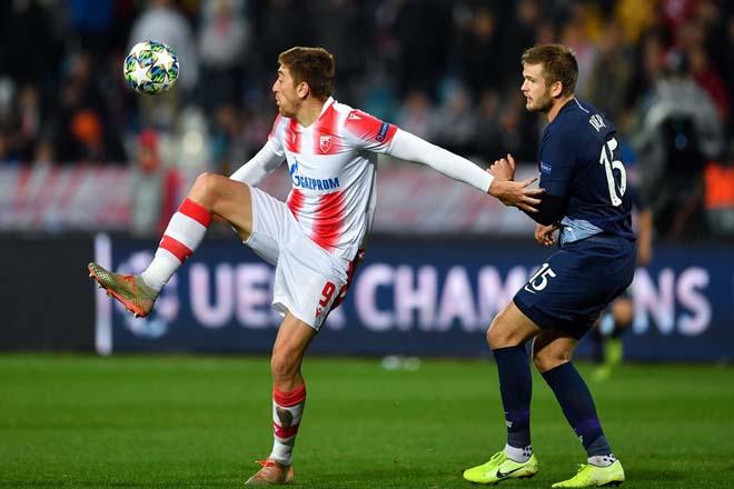 Kết quả bóng đá Cúp C1 Crvena Zvezda - Tottenham: Son Heung Min rực rỡ, mở tiệc bàn thắng - 1