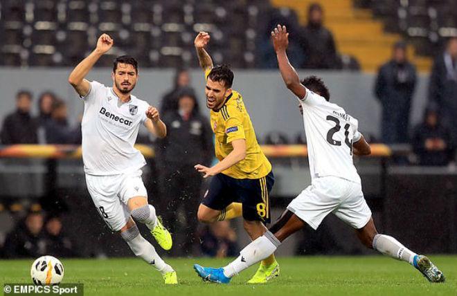 Kết quả bóng đá Europa League Vitoria Guimaraes - Arsenal: Vô-lê tuyệt đỉnh, kịch tính phút bù giờ - 1
