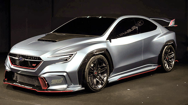 Mẫu xe Subaru STI thế hệ mới, sự kết hợp của hai hãng xe Nhật - 3