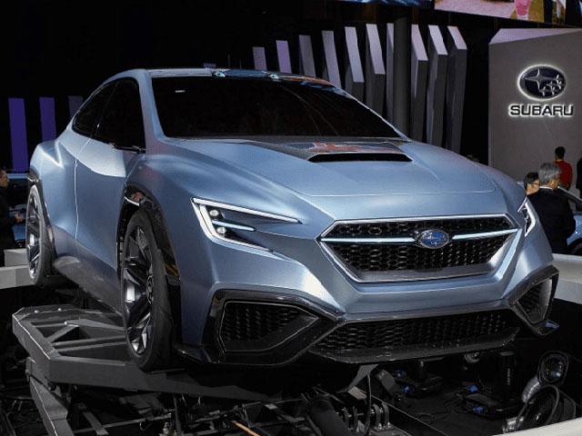 Mẫu xe Subaru STI thế hệ mới, sự kết hợp của hai hãng xe Nhật