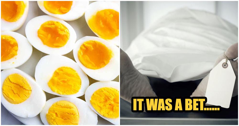 Cố ăn 50 quả trứng để giành tiền thưởng nhưng tử vong ở quả thứ 42 - 1