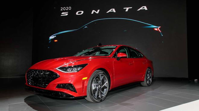 Hyundai Sonata 2020 đủ lực cạnh tranh Mazda6 và Toyota Camry - 1