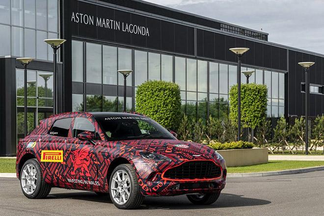 Siêu phẩm SUV Aston Martin DBX lộ ảnh nội thất cùng giá bán khoảng 4,6 tỷ VNĐ - 4