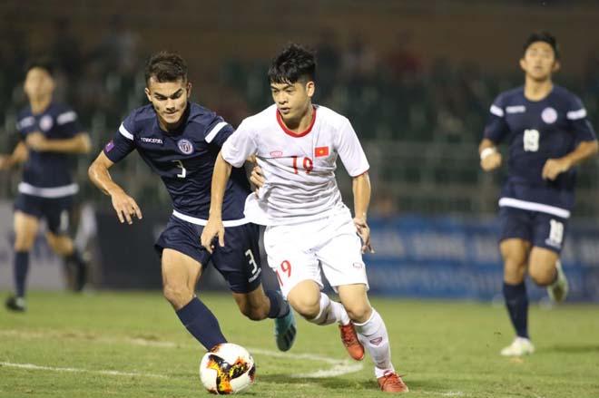 Video highlight trận U19 Việt Nam - U19 Guam: Tấn công mãn nhãn, hẹn đấu Nhật Bản - 1