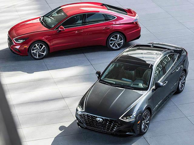 Hyundai Sonata 2020 đủ lực cạnh tranh Mazda6 và Toyota Camry