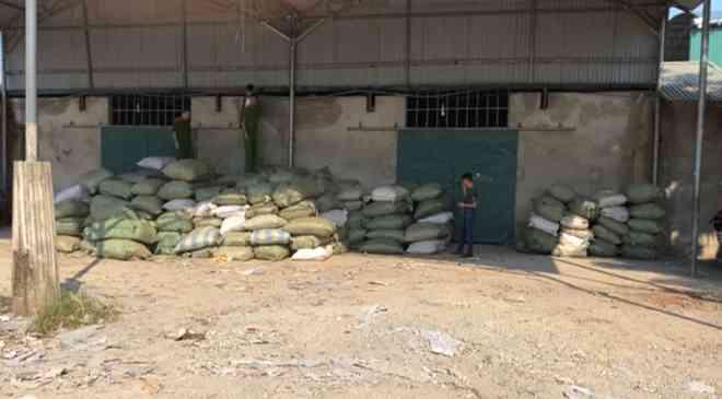 Thu 20 tấn nghi là nguyên dược liệu thuốc bắc nhập lậu từ Trung Quốc - 1