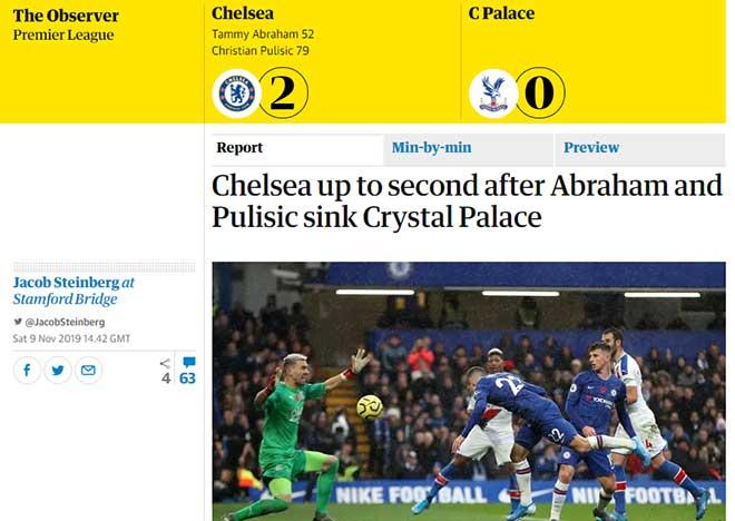 Chelsea vượt mặt Man City: Lampard quá đỉnh, báo Anh cực lực tán tụng - 1