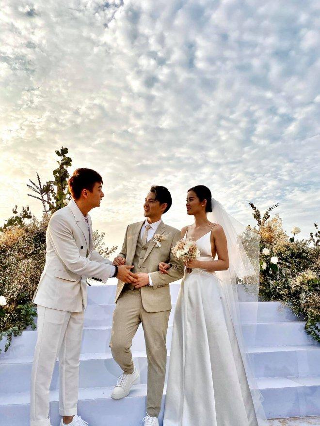 Ngô Kiến Huy tranh thủ nhận show đi hát trong ngày đám cưới Đông Nhi - 1