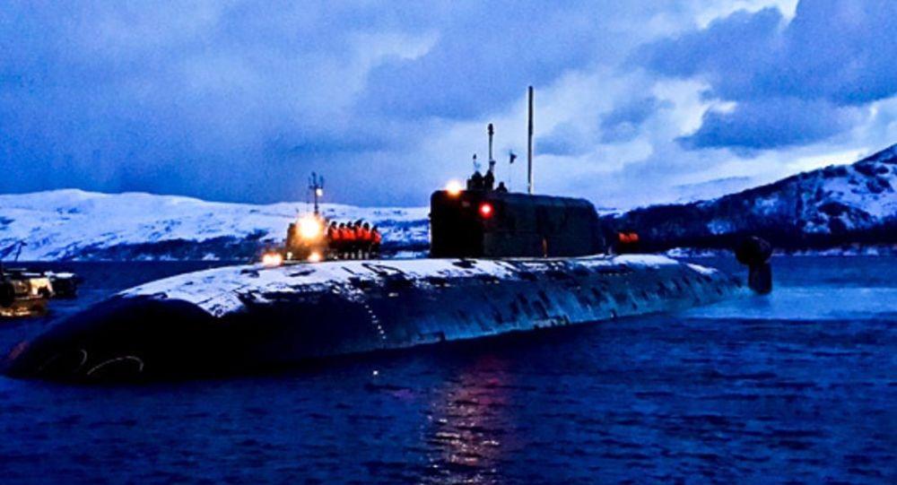 Hai tàu ngầm hạt nhân Nga phóng ngư lôi vào nhau dưới đáy biển - 1
