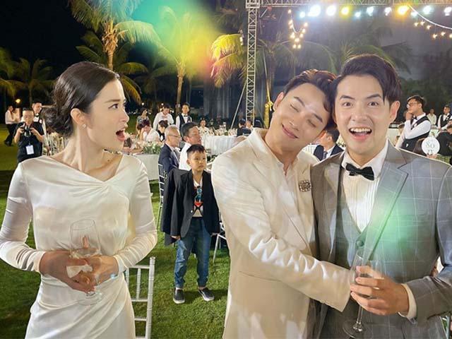 Trấn Thành và dàn sao Việt quậy tưng bừng trong đám cưới 10 tỷ của Đông Nhi