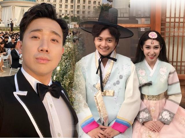 Trấn Thành ghép đôi Ngô Kiến Huy và tình cũ Khổng Tú Quỳnh trong đám cưới Đông Nhi