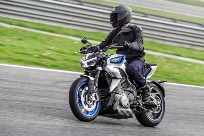 Kymco RevoNEX bản thương mại ra mắt, tăng tốc từ 0-100 km/h trong 3,9 giây - 1