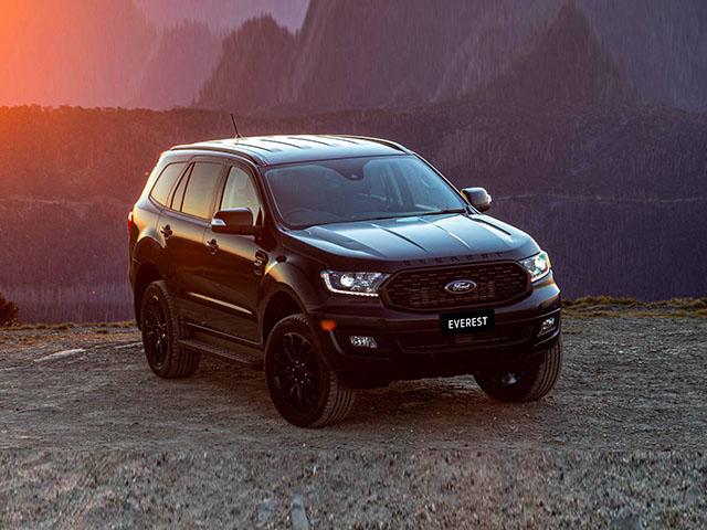 Ford Everest Sport 2020 trình làng, thêm tùy chọn màu sơn ngoại thất