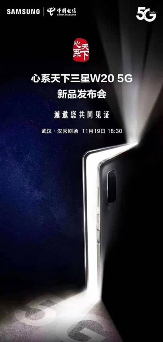 """Samsung lại """"càn quét"""" thị trường với smartphone gập lại W20 5G - 1"""