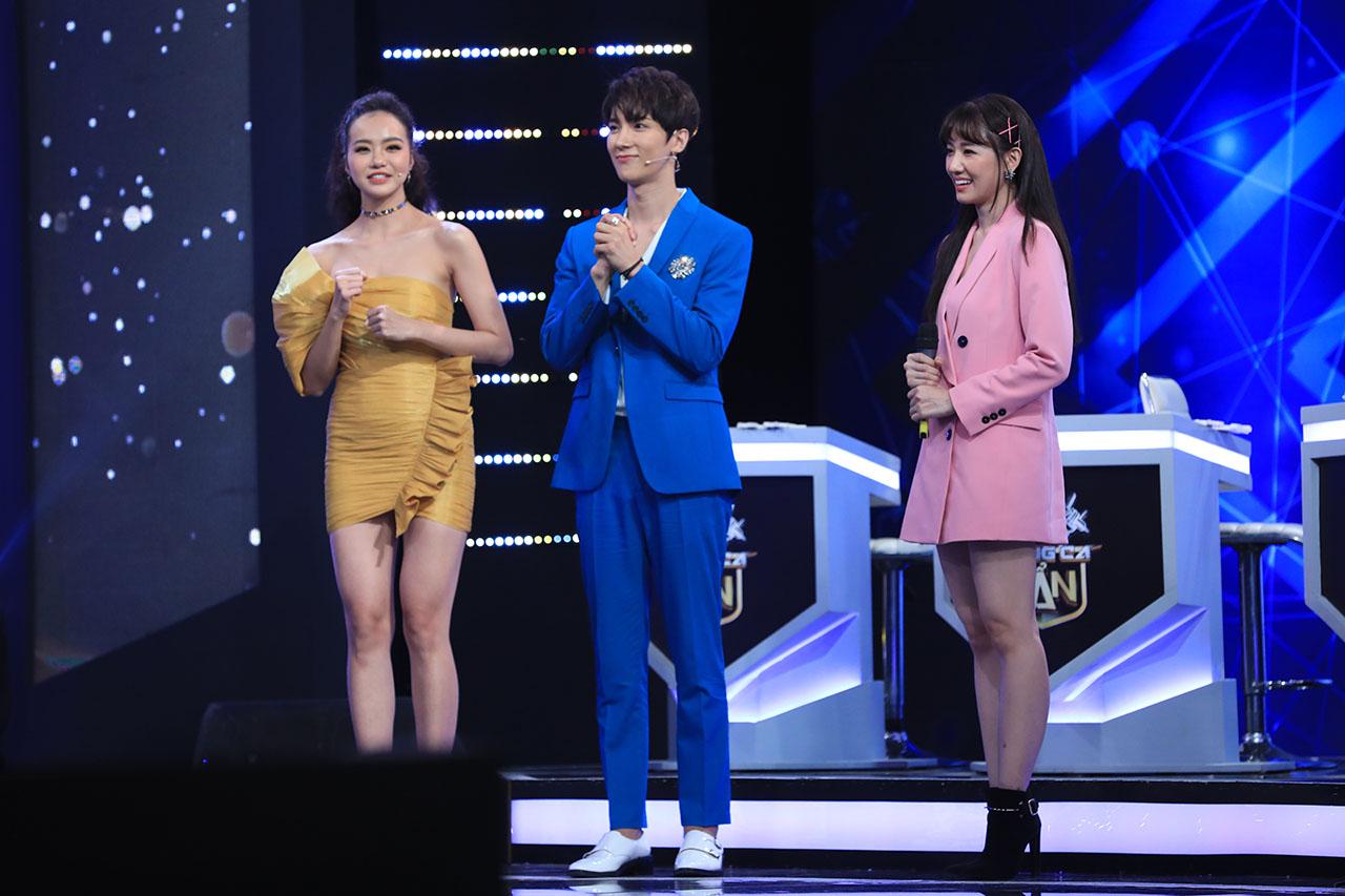 Lần đầu tiên Trấn Thành không ghen khi Hari Won đứng gần trai đẹp - 1