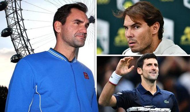 "Bảng xếp hạng tennis 11/11: Federer gặp nguy, Djokovic ""uy hiếp"" Nadal - 1"