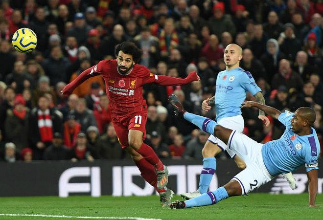 Video highlight trận Liverpool - Man City: Siêu phẩm mở màn, 51 phút hủy diệt đại chiến - 1