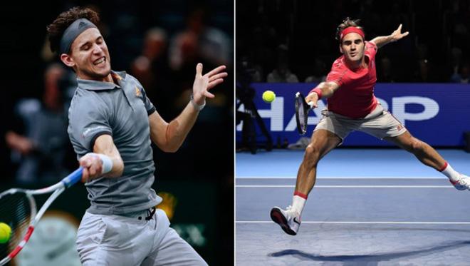 Video tennis Federer - Thiem: Cú sốc đầu tiên, 2 set ngỡ ngàng (ATP Finals) - 1