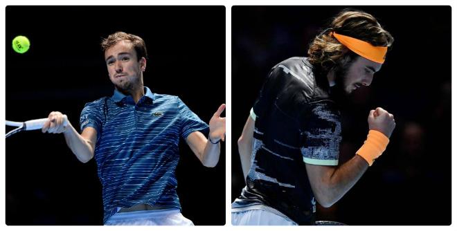 Video tennis Medvedev - Tsitsipas: Ra mắt tưng bừng, chiến thư gửi Nadal (ATP Finals) - 1