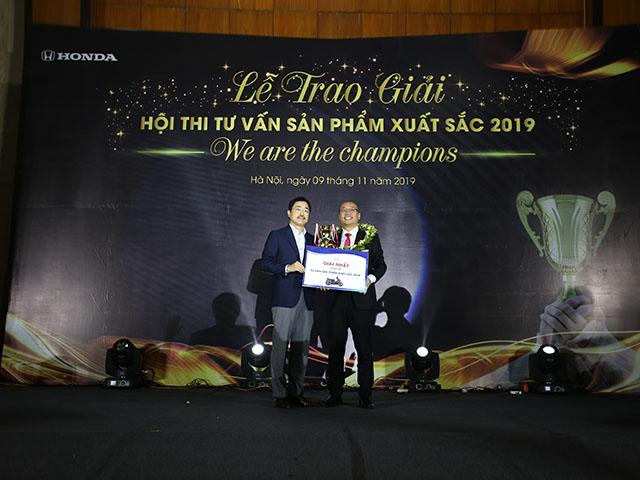 """Honda Việt Nam tổ chức thành công Vòng chung kết  Hội thi """"Tư vấn sản phẩm xuất sắc"""" lần thứ 12 năm 2019"""