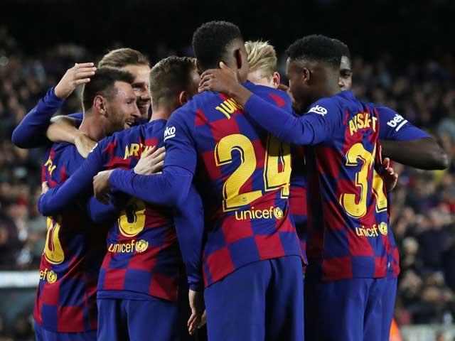 Điểm nóng vòng 13 La Liga: Messi khuấy đảo trên đỉnh, top 3 quen thuộc - 1