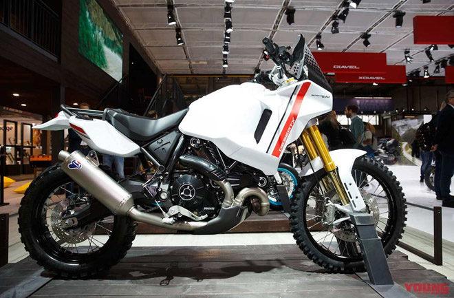 """Hé lộ chi tiết kỹ thuật của """"đối thủ"""" Honda Africa Twin 1100 - 1"""