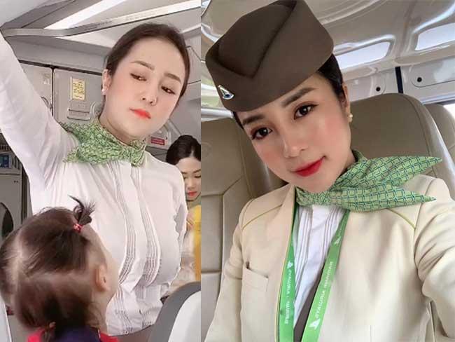 Nổi tiếng bất ngờ từ một clip quay lén trên chuyến bay, nữ tiếp viên Nguyễn Thanh Thuỷ (SN 1997, sống tại Hà Nội) được khen ngợi vì vẻ đẹp rất Á đông.