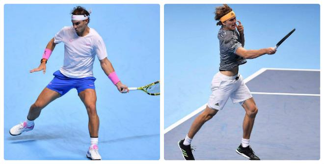 Video tennis Nadal - Zverev: Vùi dập khó tin, khởi đầu hoàn hảo (ATP Finals) - 1