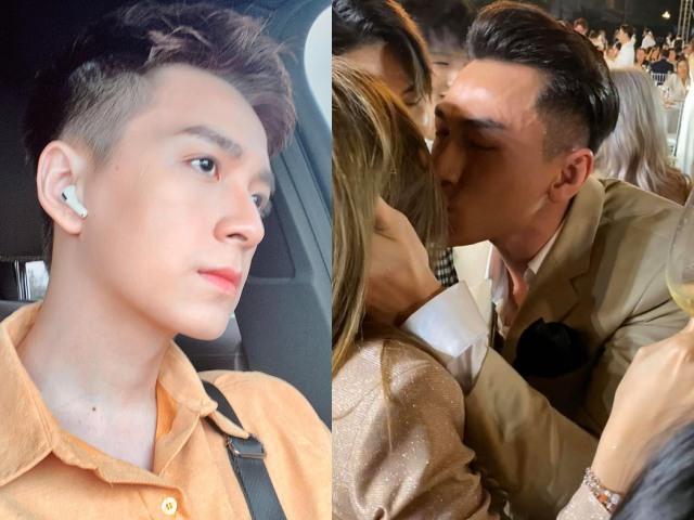 Phản ứng bất ngờ của Ngô Kiến Huy khi thấy Isaac hôn tình cũ Khổng Tú Quỳnh