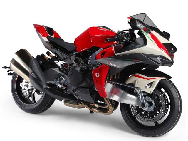"Bimota Tesi H2: Sportbike mang ""linh hồn"" của thương hiệu Kawasaki"