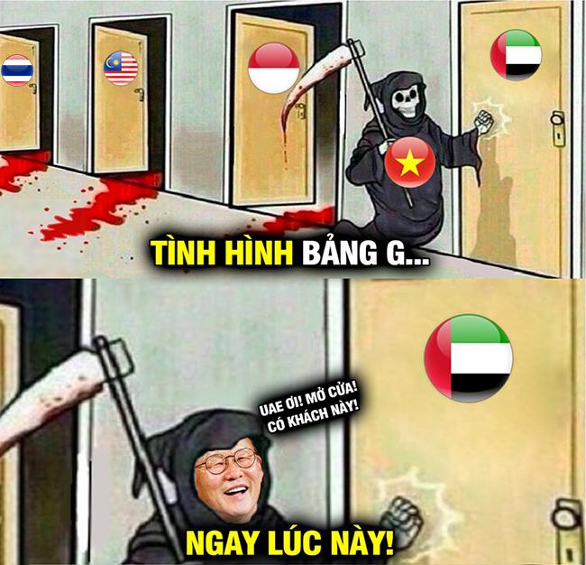 """Thầy Park gõ cửa khiến UAE """"run rẩy""""."""