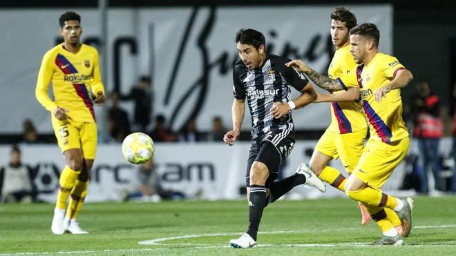 """Barca vất vả đấu đội """"tý hon"""", đàn em Messi - Suarez tỏa sáng - 1"""