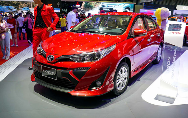 Tổng cộng 21.437 xe Toyota Vios được bán ra từ đầu năm đến nay - 1