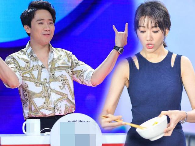 """Trấn Thành nói xấu vợ: """"Hari Won chỉ biết ăn"""""""