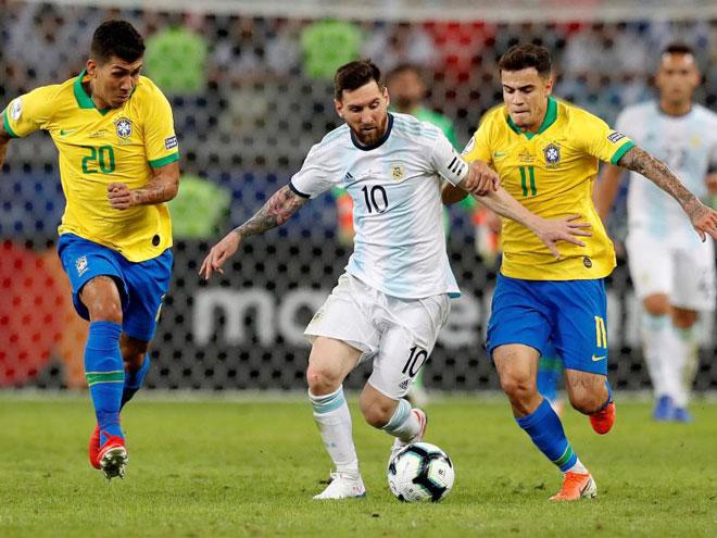 Brazil đấu siêu kinh điển với Argentina: Messi hừng hực tái xuất, chờ phá dớp buồn - 1