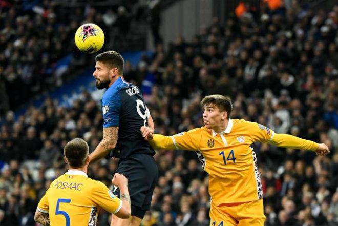 """Video highlight trận Pháp - Moldova: """"Thảm họa"""" hàng thủ, định đoạt phút 79 - 1"""