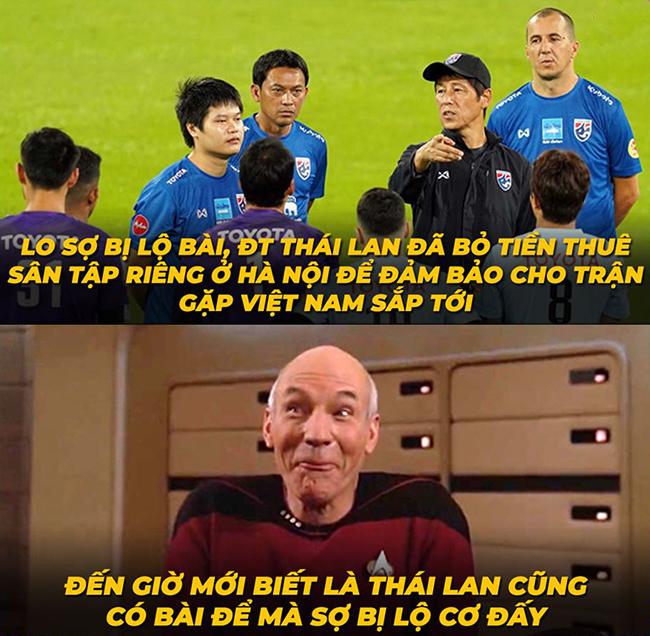 Hóa ra Thái Lan có nhiều bài để giấu thế, giấu mãi vẫn chưa thấy hết bài.