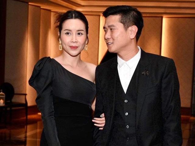 Lưu Hương Giang tình tứ nắm tay Hồ Hoài Anh dự đám cưới Giang Hồng Ngọc