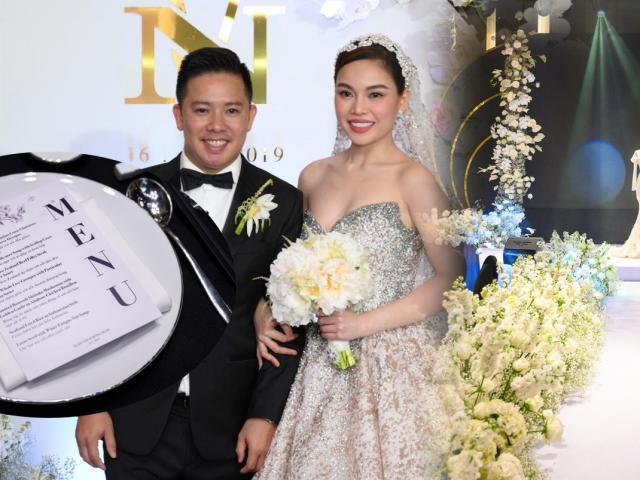 Tiệc cưới xa hoa của Giang Hồng Ngọc và chú rể hơn 8 tuổi