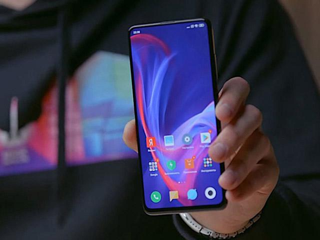 Redmi K30 trang bị màn hình LCD và cảm biến vân tay ở mặt bên