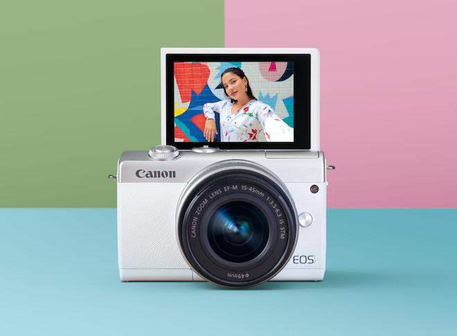 Canon trình làng máy ảnh EOS M200, giá 16 triệu đồng - 1