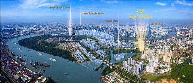 Dự án nào ở khu đô thị mới Thủ Thiêm hưởng lợi từ sóng hạ tầng đồng bộ? - 1