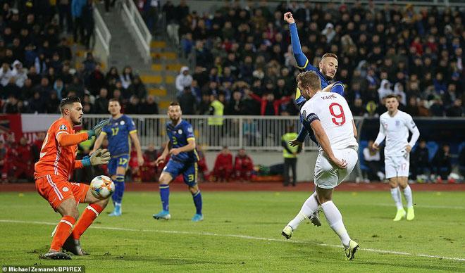 Video highlight trận Kosovo - Anh: Chiến thắng 4 sao, kết cục viên mãn - 1