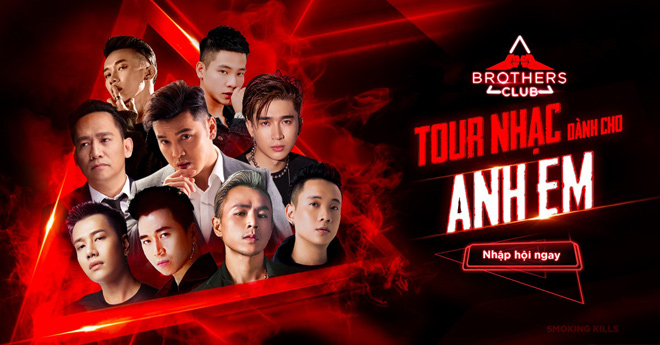 Ưng Hoàng Phúc, Binz, Justa Tee cùng Brothers Club khép lại tour nhạc 2019 thành công – khẳng định vị thế cộng đồng Anh Em - 1