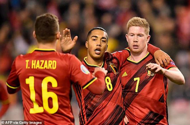 Video highlight trận Bỉ - Đảo Síp: Đại tiệc 7 bàn, rực rỡ 2 cú đúp - 1