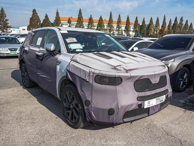 Kia Sorento 2020 bắt gặp chạy thử nghiệm cùng lớp ngụy trang tại Hàn Quốc